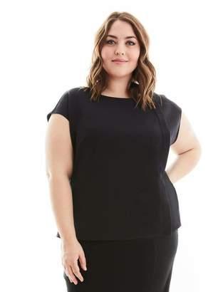 Gravitas Zora Tunic Top in Black Size 1X