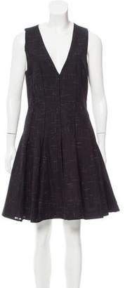 Thakoon Pleated Knee-Length Dress