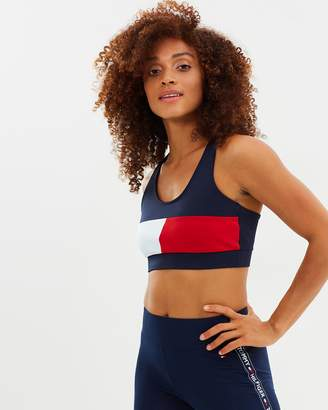 Tommy Hilfiger Athletic Colour-Block Bra Top