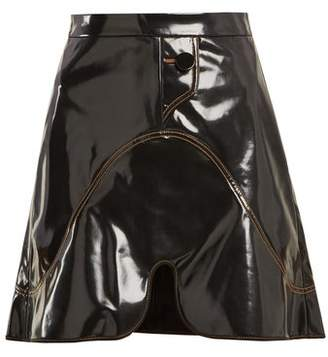 Ellery Milky Way Pvc Mini Skirt - Womens - Black
