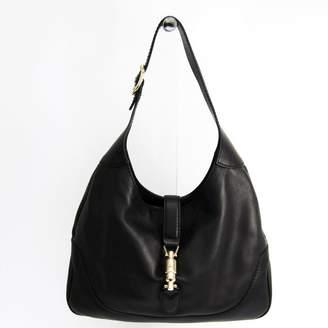 Gucci Black Leather New Jackie Shoulder Bag (SHA11481)