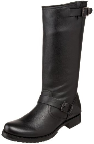 Frye Women's Veronica Slouch Boot,Black Full Grain Leather,8.5 B (M) US