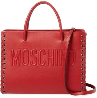 Moschino Women's Leather Tote Bag