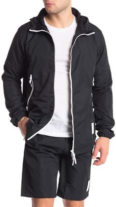 Asics Convertible Zip-Up Hooded Jacket