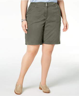 Karen Scott Plus Size Shorts, Created for Macy's