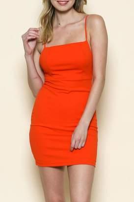 Solemio Square Cut Dress