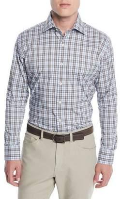 Peter Millar Men's Crown Comfort Glen Plaid Sport Shirt