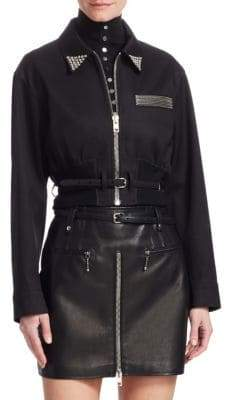 Alexander Wang Cropped Utility Jacket