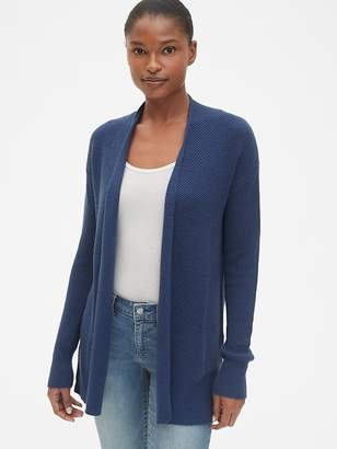 Gap True Soft Open-Front Cardigan Sweater