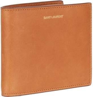 Saint Laurent Leather Bifold Wallet