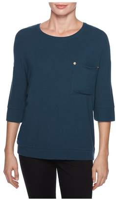 Magaschoni Elbow Sleeve Micromodal Top