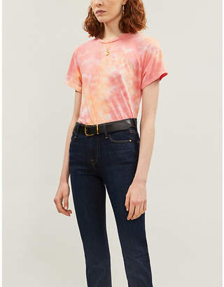 Reformation Perfect Vintage tie-dye organic cotton-jersey T-shirt