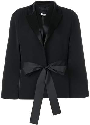 Givenchy flared sleeve tie waist jacket