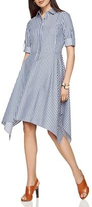 BCBGMAXAZRIA Beatryce Striped Shirt Dress $228 thestylecure.com