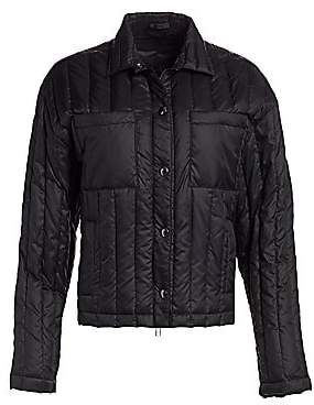 ATM Anthony Thomas Melillo Women's Down Puffy Boxy Jacket