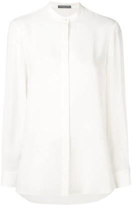 Alexander McQueen band collar shirt