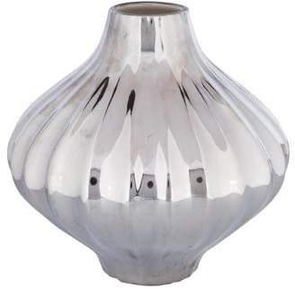 Jonathan Adler Metallic Belly Vase
