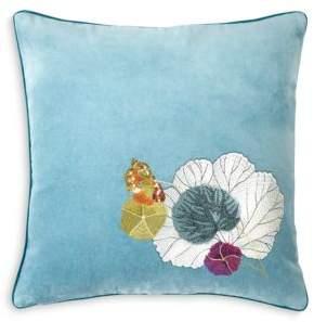 "Yves Delorme Pavot Decorative Pillow, 18"" x 18"""