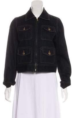 Lauren by Ralph Lauren Denim Zip-Up Jacket w/ Tags