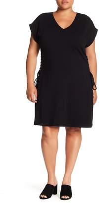 Wilson Rebel X Angels Corset Side T-Shirt Dress (Plus Size)