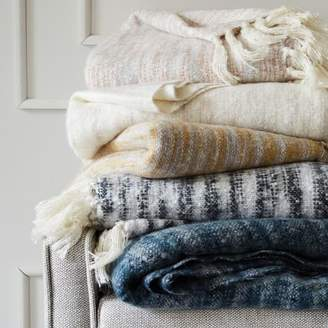 west elm Coziest Throw - Space-Dyed