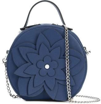 Christian Siriano floral embellished shoulder bag