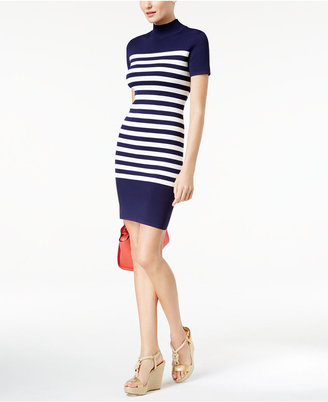 MICHAEL Michael Kors Striped Bodycon Dress $140 thestylecure.com