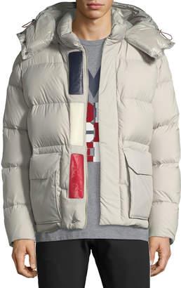 Moncler Men's Glacier Hooded Puffer Jacket