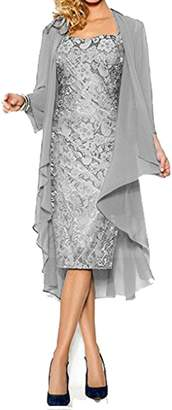 Shiningdress Women's Sexy Lace Mother of the bride Evening Dress