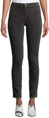 Nic+Zoe Plus Size Stretch Velvet Slim Pants