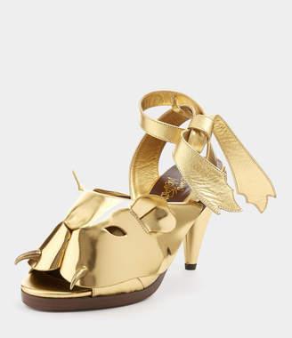 Vivienne Westwood La Tigresse Sandal Gold