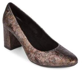 The Flexx Seriously Textured Leather Pumps