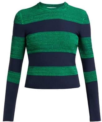 Sportmax Po Sweater - Womens - Green Multi