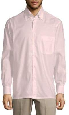 Brioni Casual Cotton Button-Down Shirt