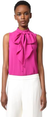 Derek Lam Sleeveless Button Down Shirt $895 thestylecure.com