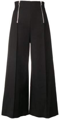 Alexander Wang wide leg high-waisted trousers