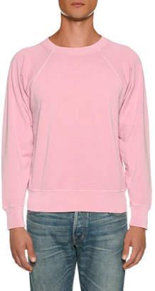 Tom Ford Men's Vintage Garment-Dyed Loop Back Sweater