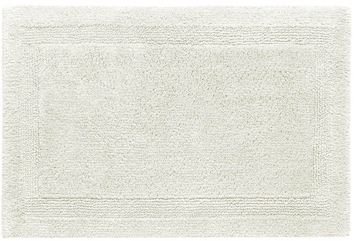 AbyssAbyss Super Pile small reversible bath mat - Ivory