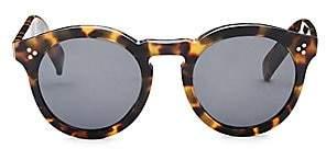 fbcb6d5d38 Illesteva Women s 50MM Leonard II Tortoise Round Sunglasses