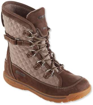 L.L. Bean L.L.Bean Women's Snow Peak Waterproof Boots, Mid