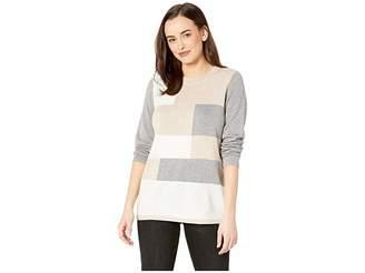 Calvin Klein Color Block Crew Neck Sweater