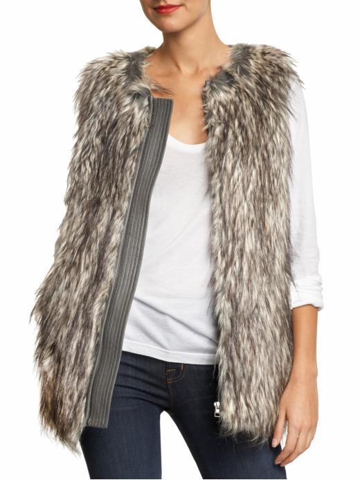 Joie Thelma Faux Fur Vest