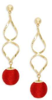 Design Lab Twisted Wrap Earrings