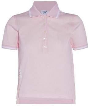 Thom Browne Cotton-Piqué Polo Shirt