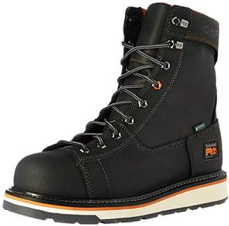 """Timberland Men's Gridworks 8"""" Alloy Safety Toe Waterproof Industrial and Construction Shoe"""