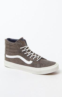 Vans Women's Sk8-Hi Slim Zip Sneakers $80 thestylecure.com