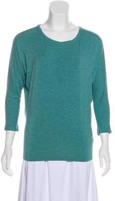 Rachel Zoe Crew Neck Long Sleeve Top