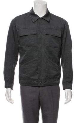 Rick Owens Strutter Silk Worker Jacket