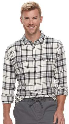 Sonoma Goods For Life Men's SONOMA Goods for Life Slim-Fit Flannel Button-Down Shirt