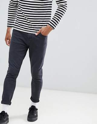 Pull&Bear Carrot Fit Trousers In Black